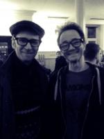 Ecco und Michi mit Brillen